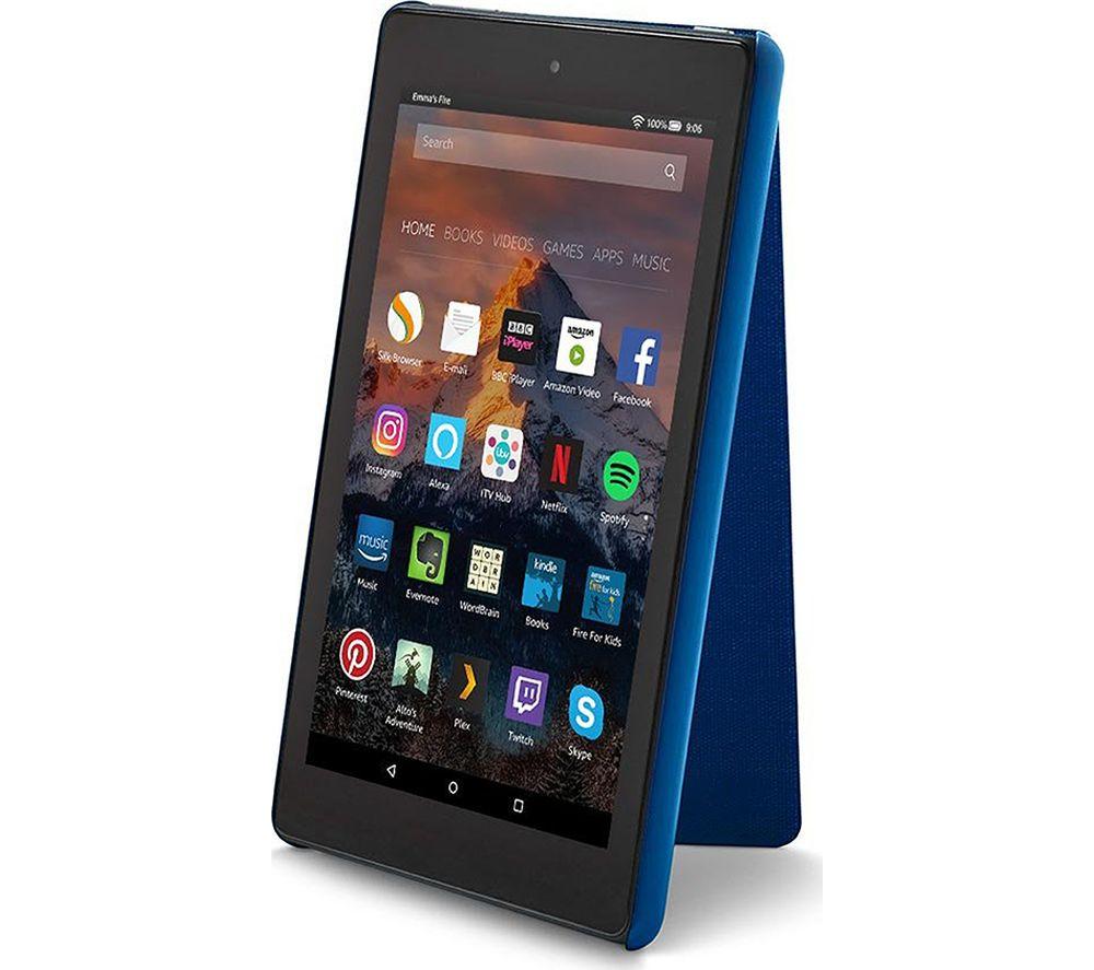 """8"""" Amazon Fire HD Case - Blue"""