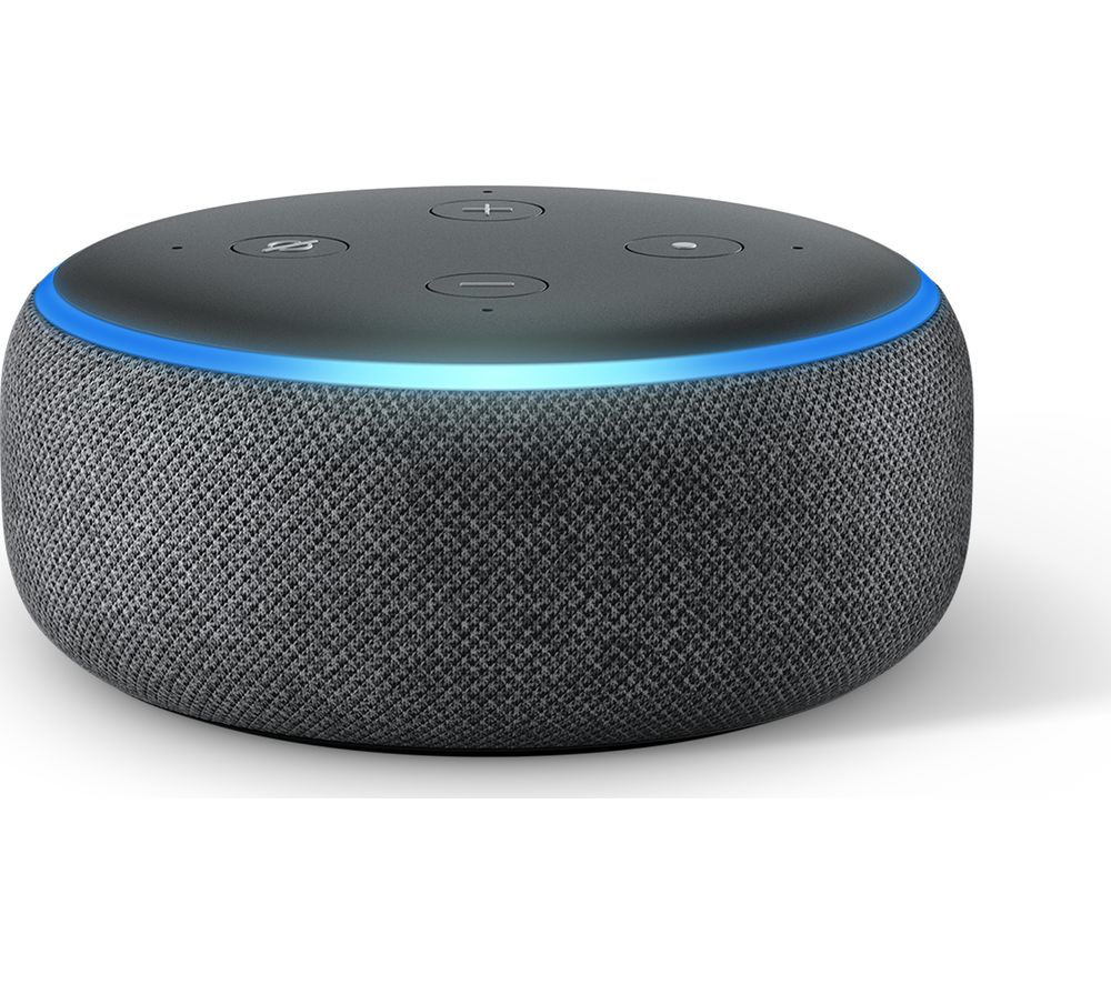 Amazon Echo Dot (2018) - Charcoal, Charcoal