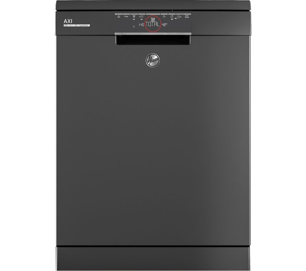 HOOVER Axi HDPN 4S622PA Full-size Smart Dishwasher - Graphite