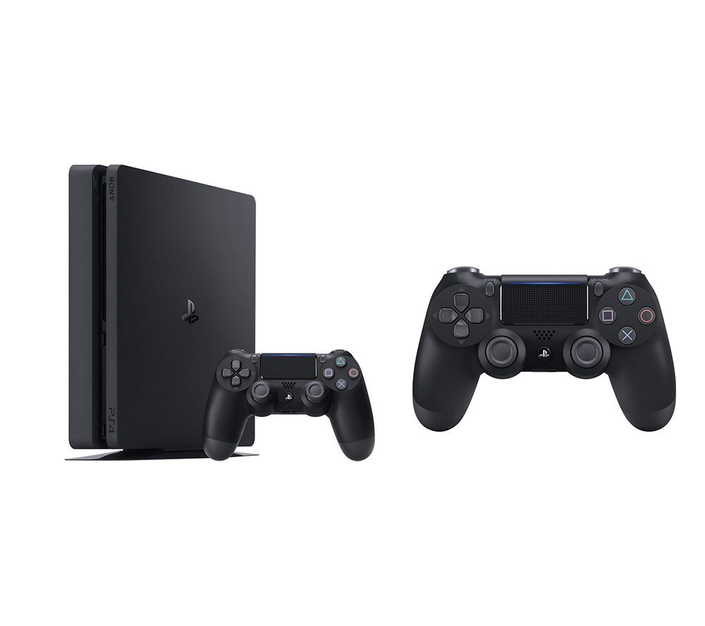 SONY PlayStation 4 & DualShock 4 V2 Wireless Controller Bundle - 1 TB
