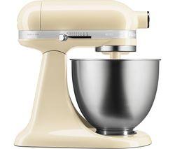 KITCHENAID Artisan Mini 5KSM3311XBAC Stand Mixer - Almond Cream Best Price, Cheapest Prices