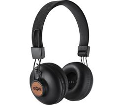 HOUSE OF MARLEY Positive Vibration 2.0 Headphones - Black