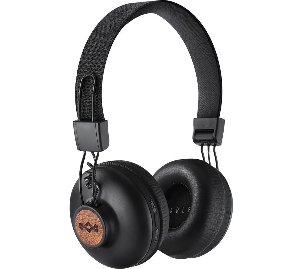 Image of HOUSE OF MARLEY Positive Vibration 2.0 Headphones - Black, Black