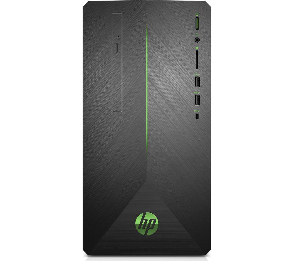 HP Pavilion 690-0035na Intel�? Core�? i5 Desktop PC - 2 TB HDD & 256 GB SSD, Black, Black