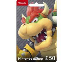 eShop Gift Card - £50