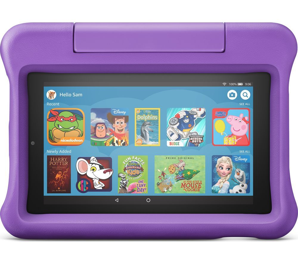 "AMAZON Fire 7 Kids Edition 7"" Tablet (2019) - 16 GB, Purple"