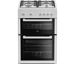 BEKO XDG611W 60 cm Gas Cooker - White