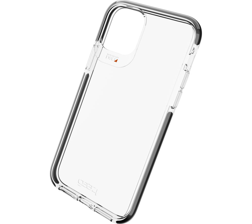 GEAR4 Piccadilly iPhone 11 Pro Case - Clear & Black
