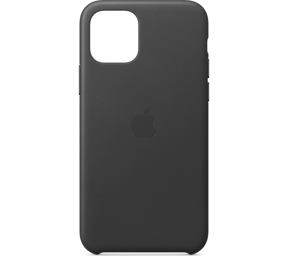 APPLE iPhone 11 Pro Leather Case - Black, Black
