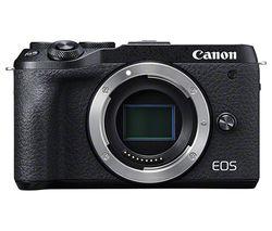 EOS M6 Mark II Mirrorless Camera - Body Only
