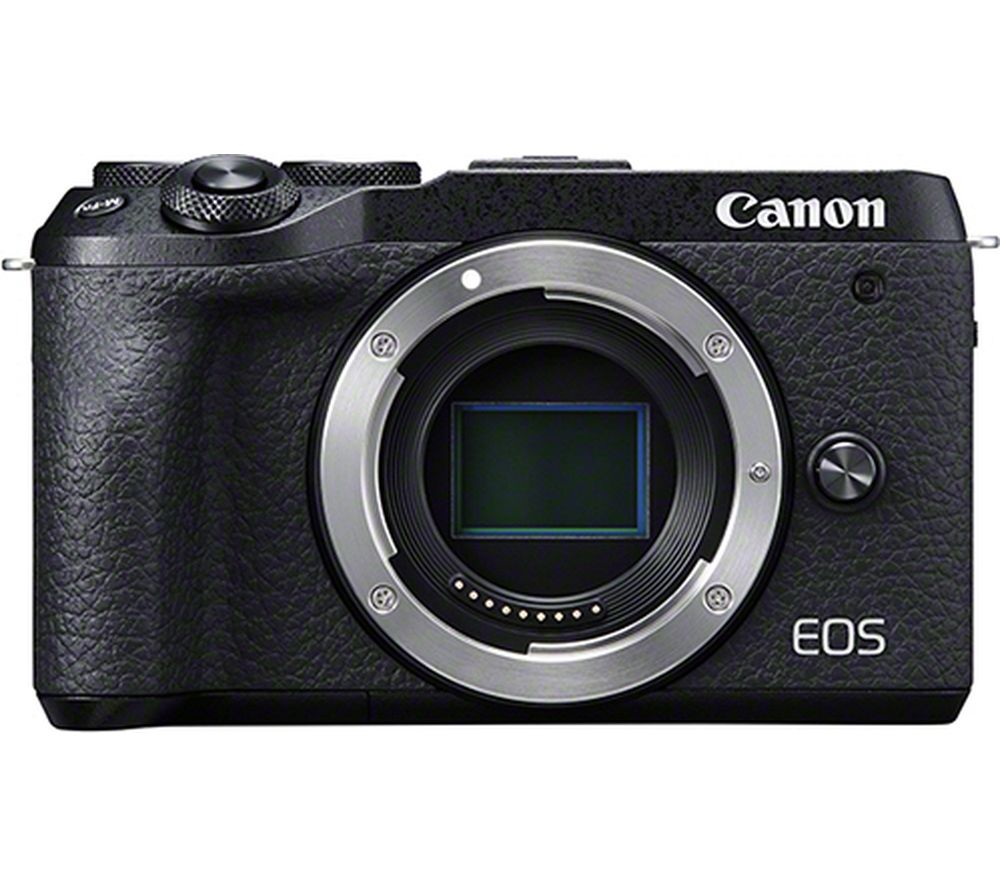 Canon Eos M6 Mark Ii Mirrorless Camera Body Only