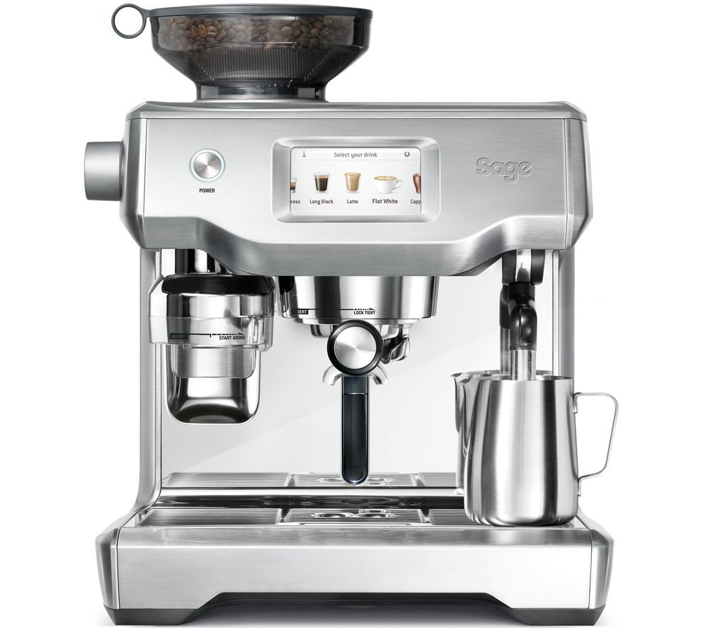 SAGE ORACLE TOUCH SES990BSS Bean to Cup Coffee Machine - Stainless Steel, Stainless Steel
