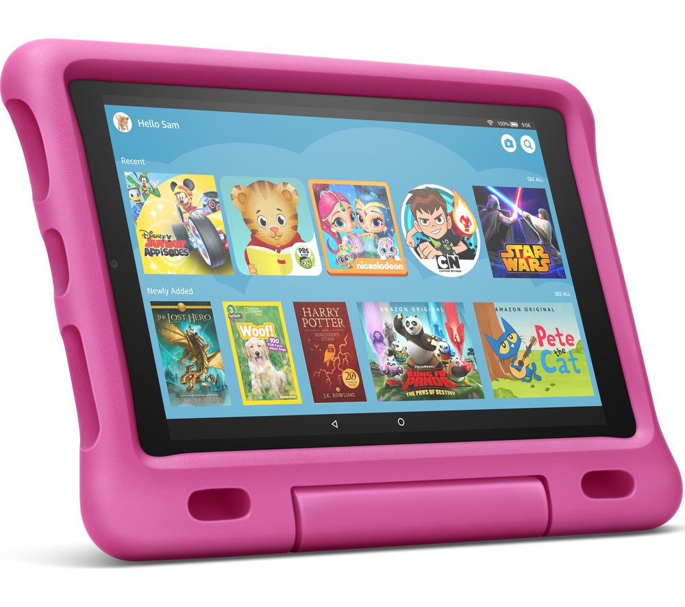 "AMAZON Fire HD 10"" Kids Edition Tablet (2019) - 32 GB, Pink"