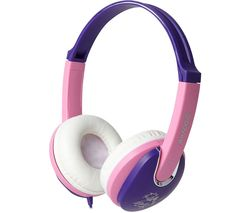 KIDDIEZ GV-591-VP Kids Headphones - Violet & Pink