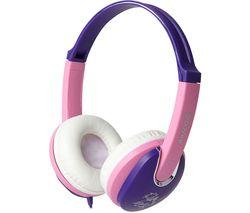 GROOV-E KIDDIEZ GV-591-VP Kids Headphones - Violet & Pink