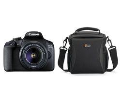 EOS 2000D DSLR Camera, Lens & Bag Bundle