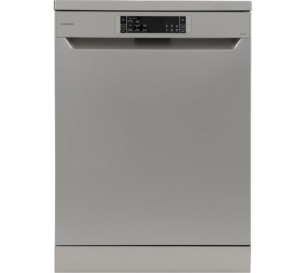 KENWOOD KDW60S20 Full-size Dishwasher - Silver