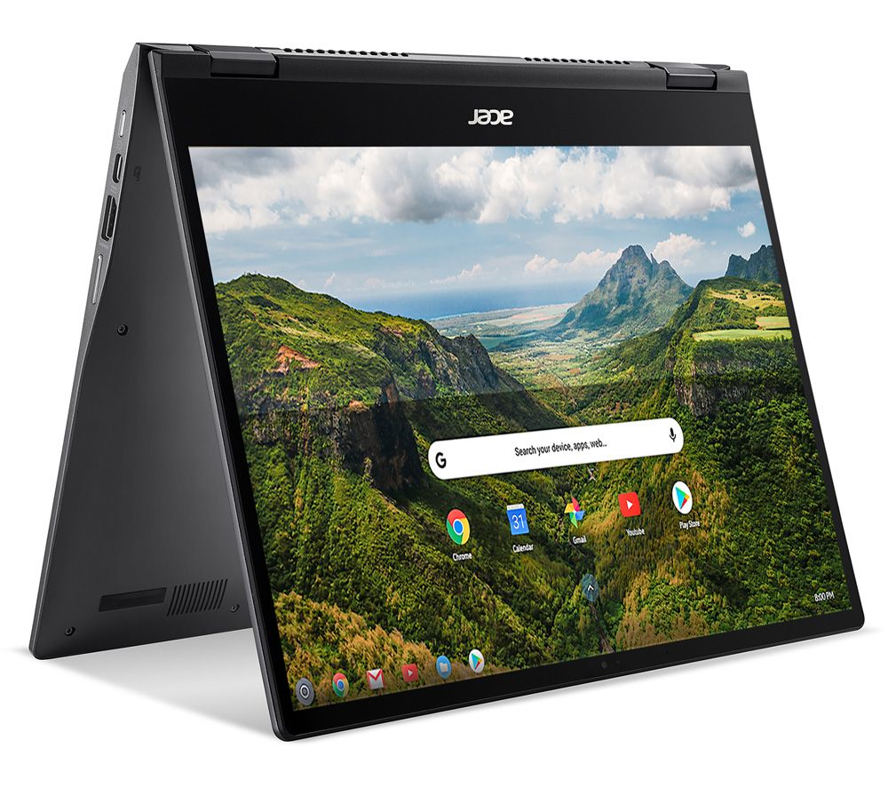 "Image of ACER Spin 713 13.5"" 2-in-1 Chromebook - Intel®Core™ i3, 128 GB eMMC, Grey, Grey"