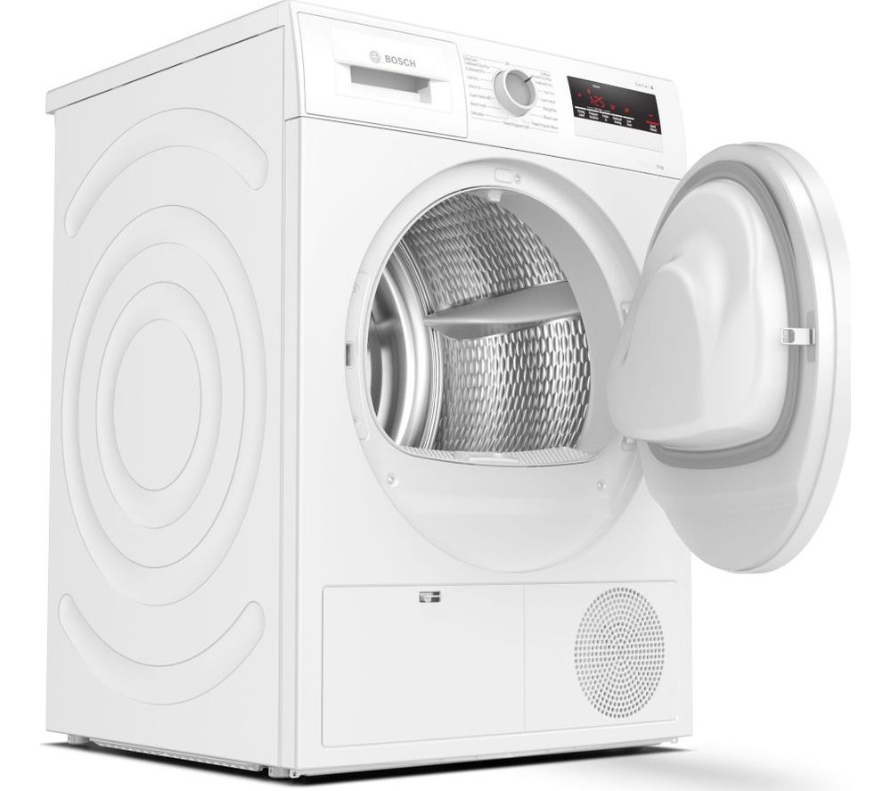 BOSCH Serie 4 WTN83201GB 8 kg Condenser Tumble Dryer - White