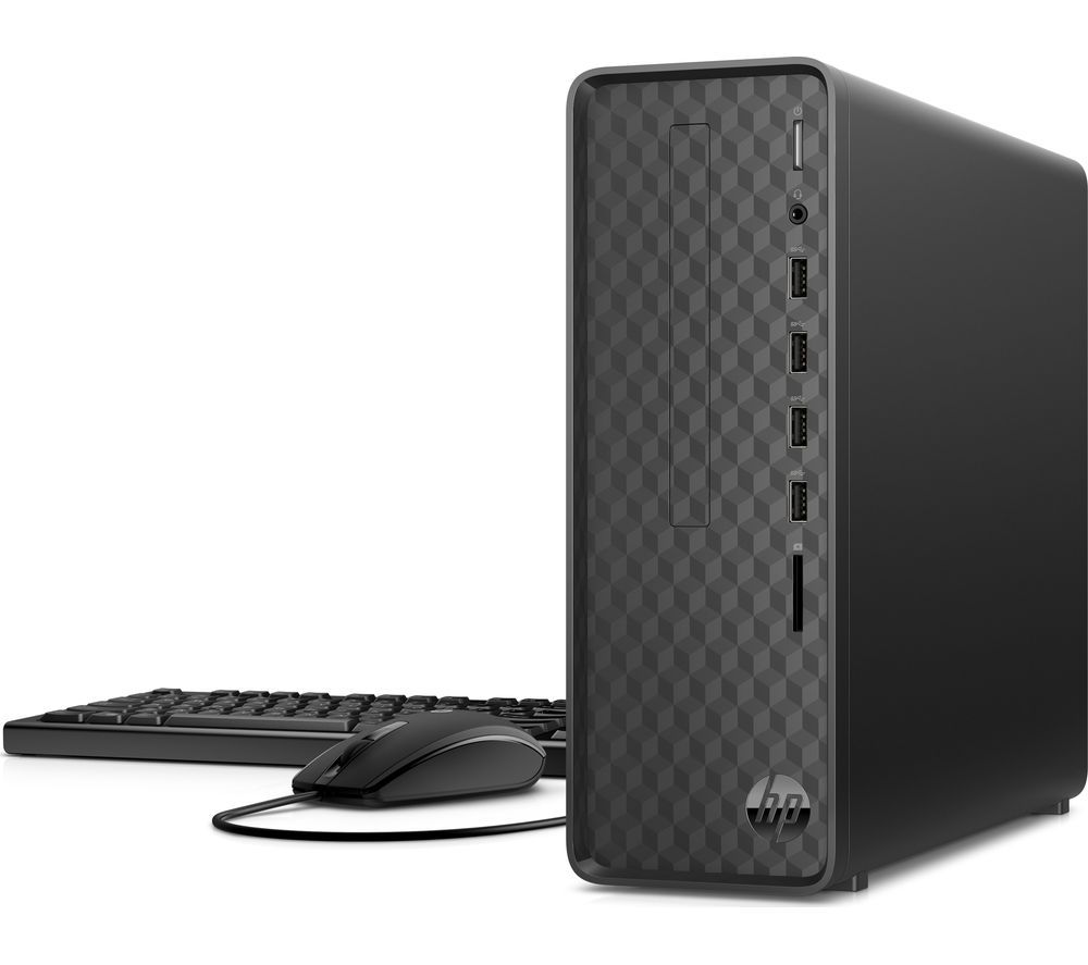 Image of HP S01-aF0017na Desktop PC - AMD Athlon, 1 TB HDD, Black