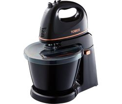 TOWER T12039 Stand Mixer - Black Best Price, Cheapest Prices