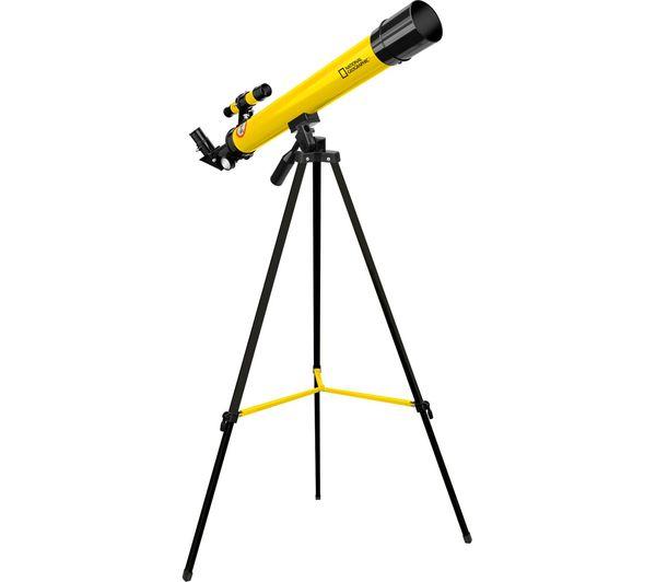 Image of NAT. GEOGRAPHIC 50/600 AZ Refractor Telescope - Yellow