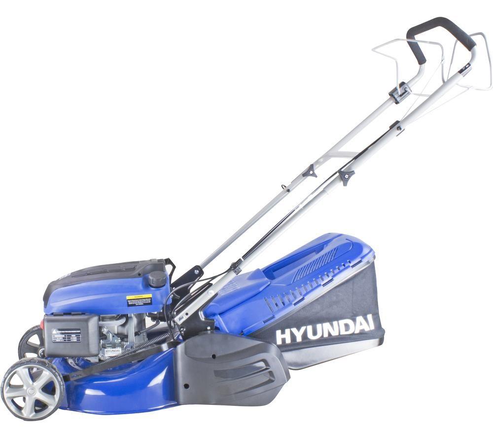 HYUNDAI HYM430SPR Cordless Rotary Lawn Mower - Blue