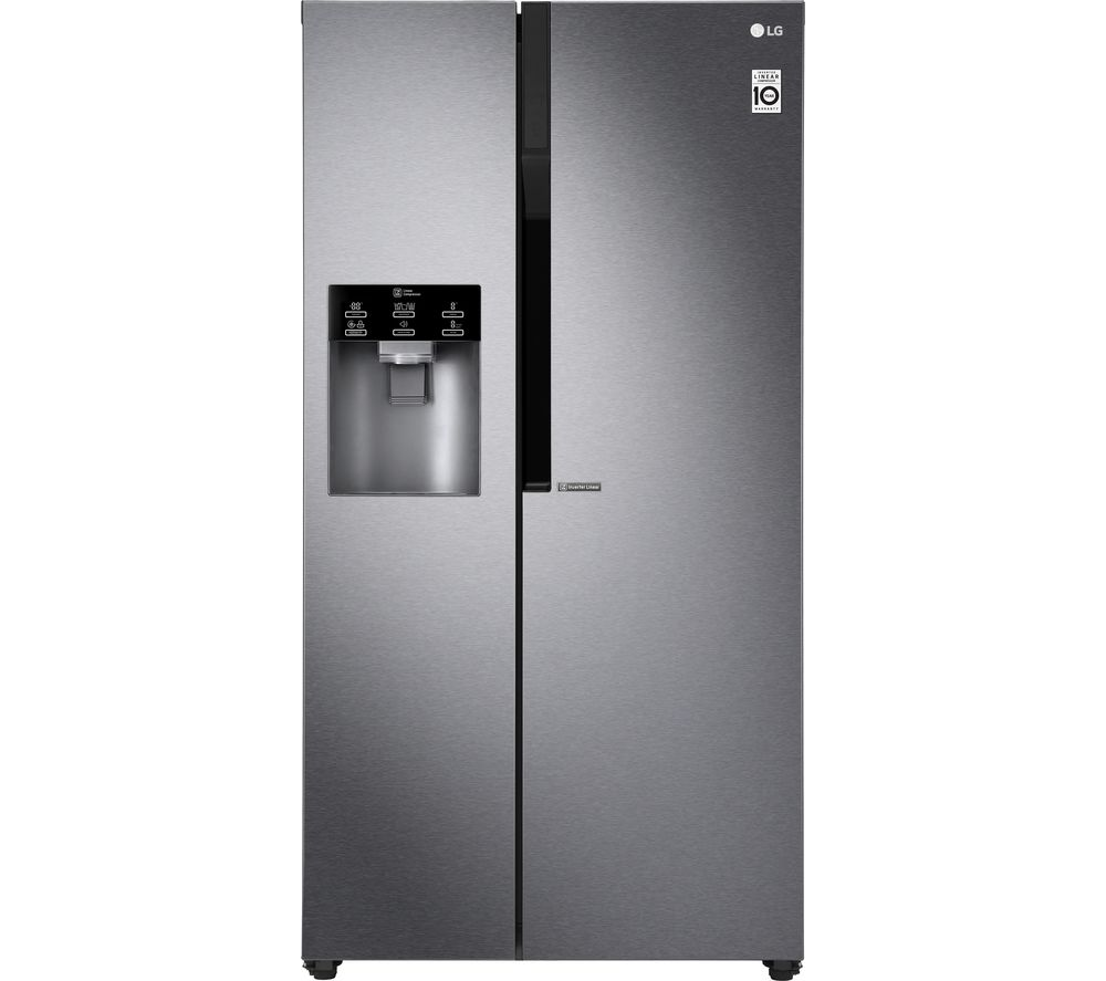 LG GSL460ICEV American-Style Fridge Freezer - Dark Graphite, Graphite