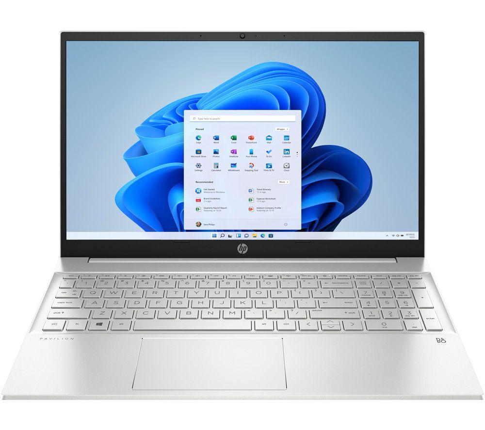 "Image of HP Pavilion 15-eh0511sa 15.6"" Laptop - AMD Ryzen 5, 512 GB, Silver, Silver"