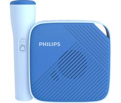 PHILIPS TAS4405N/00 Portable Bluetooth Speaker & Microphone - Blue