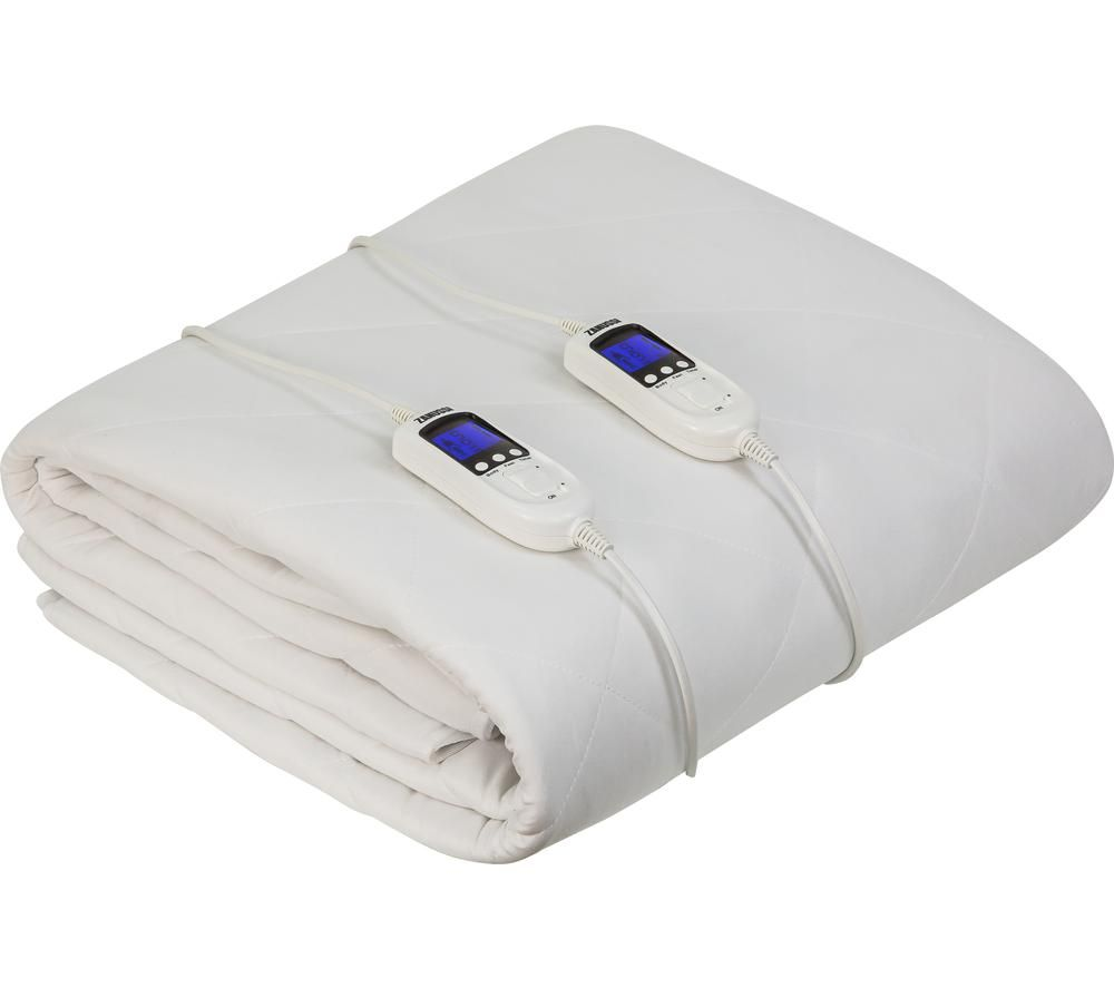 ZANUSSI ZEDB7002 Electric Blanket - White