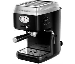 Retro 28251 Espresso Coffee Machine - Black