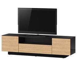 ESSENTIALS LBA1840 1800 mm TV Stand - Black & Brown