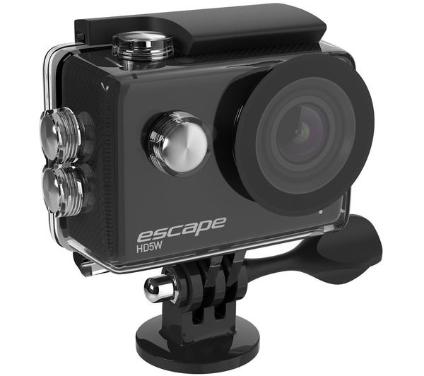 KITVISION Escape Full HD Action Camera - Black