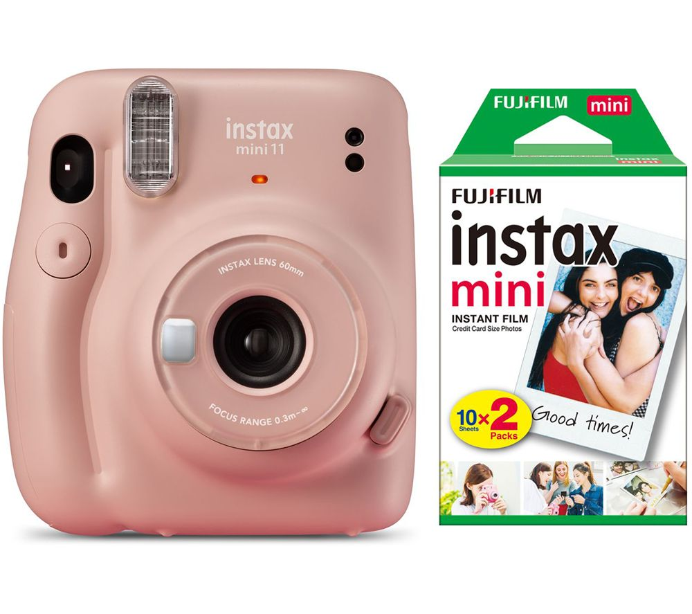 Click to view product details and reviews for Instax Mini 11 Instant Camera 20 Shot Instax Mini Film Pack Bundle Blush Pink Pink.