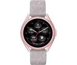 MKGO Gen 5E MKT5117 Smartwatch - Grey & Rose Gold, Silicone Strap