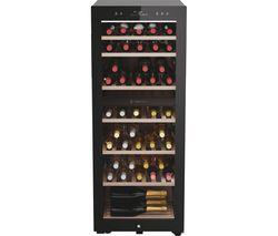 HWS77GDAU1 Dual Zone Wine Cooler - Black
