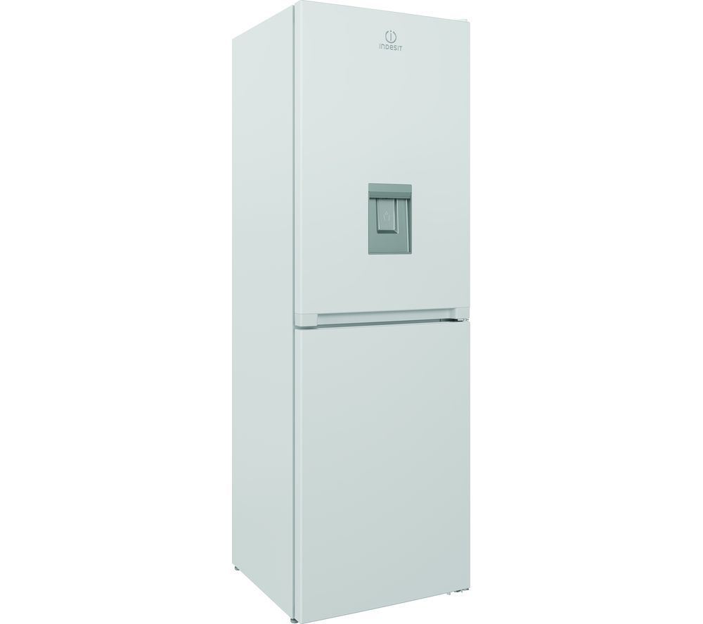INDESIT INFC8 50TI1 W AQUA 1 50/50 Fridge Freezer - White, Aqua