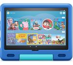 £199.99, AMAZON Fire HD 10 10.1inch Kids Tablet (2021) - 32 GB, Sky Blue, Fire OS 7, Full HD screen, 32GB storage: Perfect for apps / photos / videos, Battery life: Up to 12 hours, Add more storage with a microSD card,