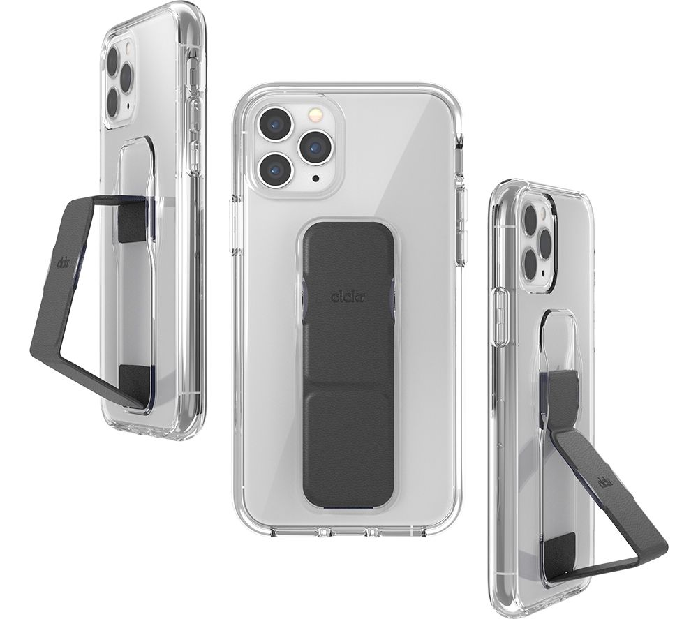 CLCKR iPhone 11 Pro Smooth Case - Clear & Black