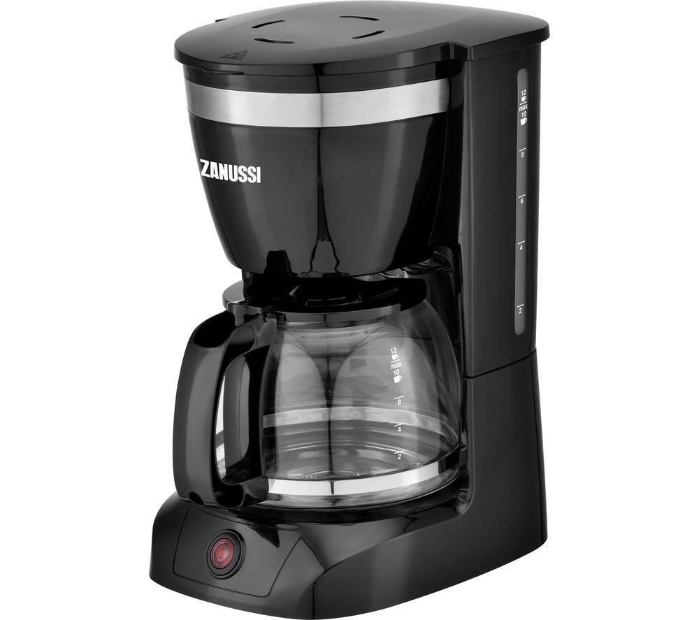 ZANUSSI ZCM-1859 Filter Coffee Maker - Black