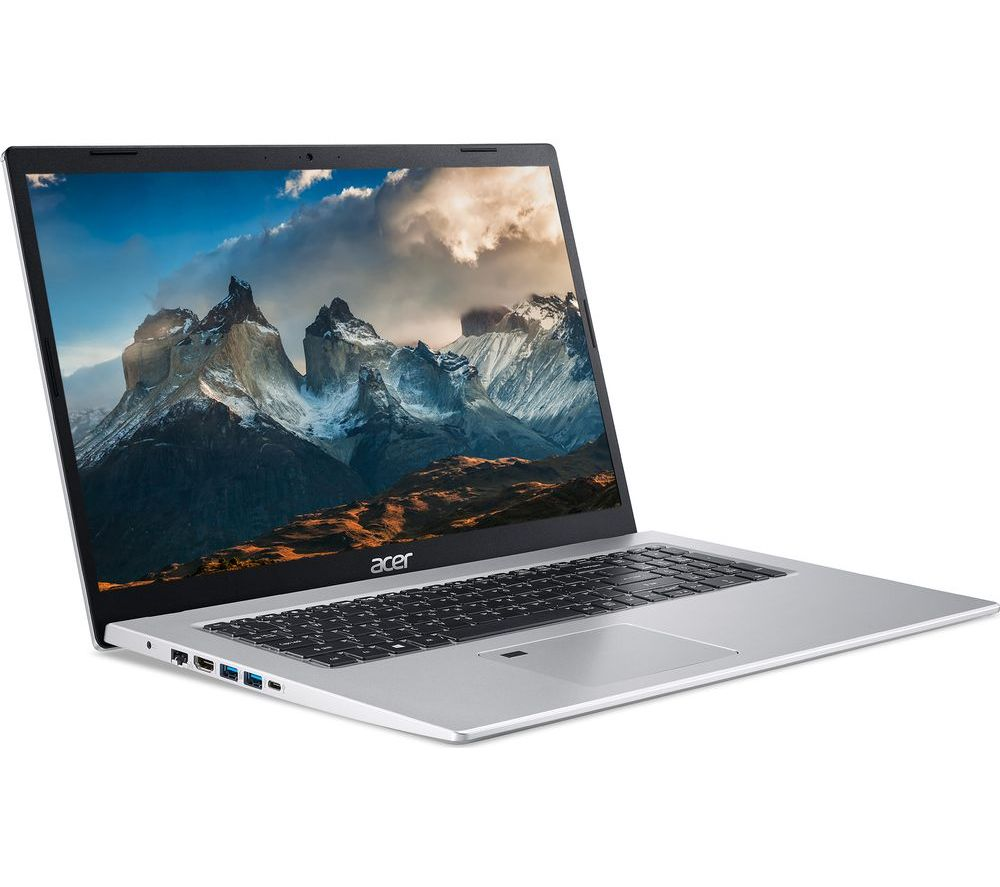"""Image of ACER Aspire 5 A517-52G 17.3"""" Laptop - Intel®Core™ i7, 512 GB SSD, Silver, Silver"""