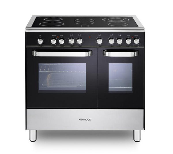 KENWOOD CK408/1 Electric Ceramic Range Cooker - Black