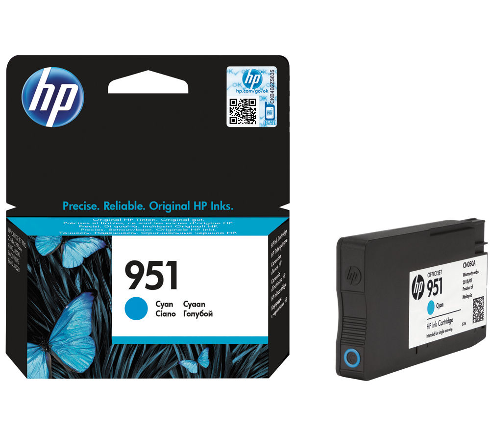 HP 951 Cyan Ink Cartridge