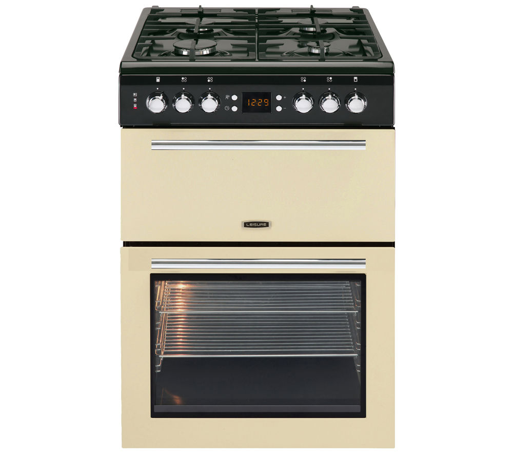 LEISURE AL60GAC Gas Cooker - Cream