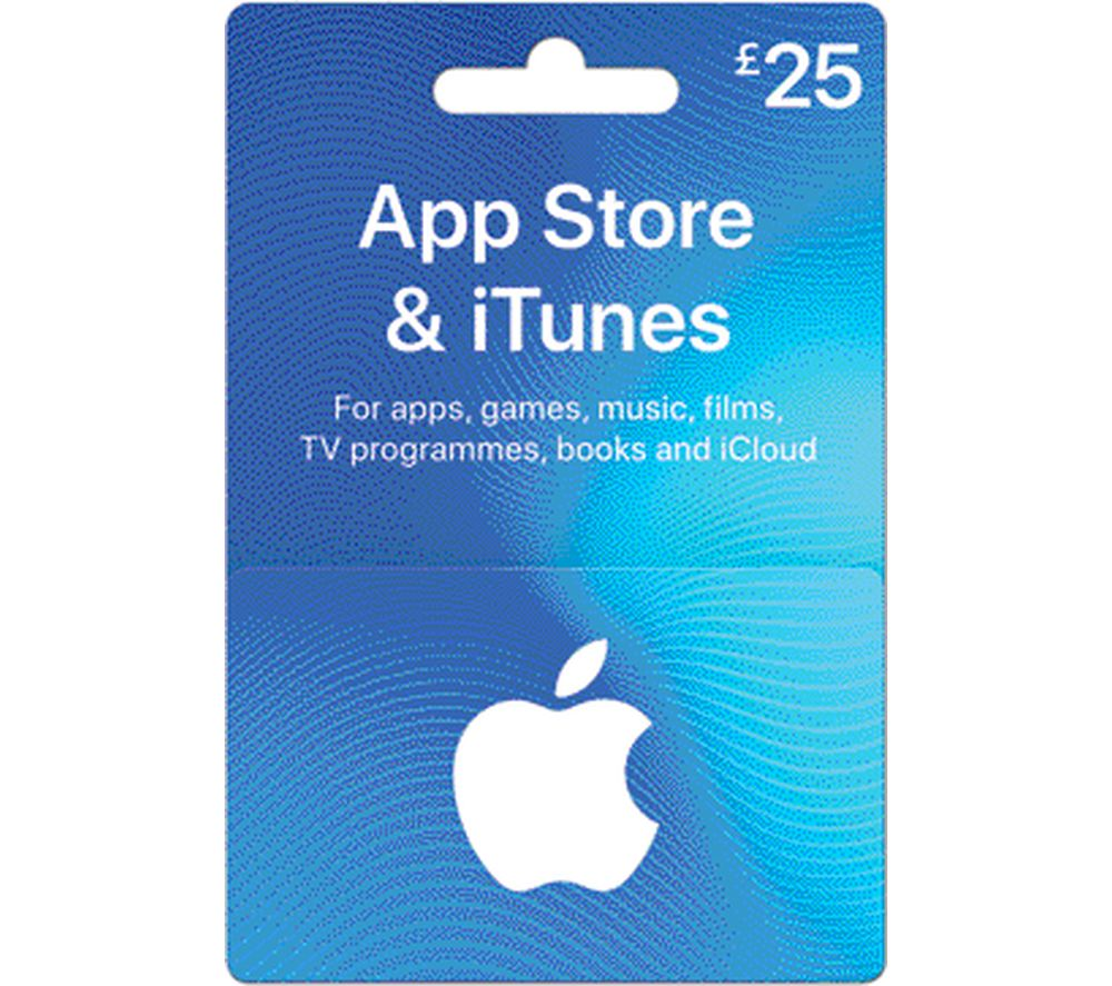 Buy ITUNES £25 App Store & iTunes Gift Card