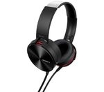 SONY MDR-XB950AP Headphones - Black