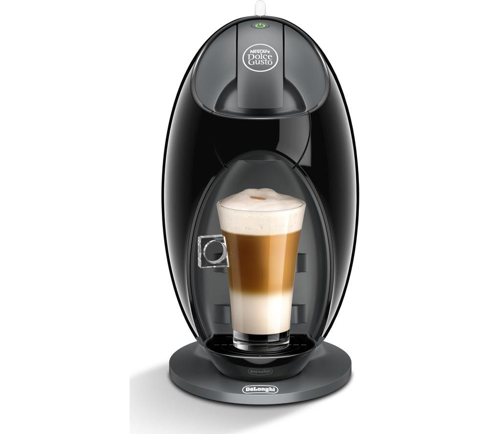 by De'Longhi Jovia EDG250B Hot Drinks Machine - Black + Dolce Gusto Americano - Pack of 16
