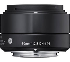 SIGMA 30 mm f/2.8 DN A Standard Prime Lens - for Micro Four Thirds