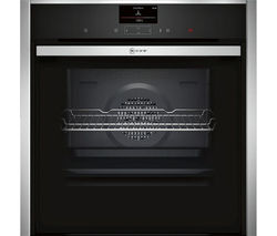 NEFF Slide & Hide B57CS24N0B Electric Oven - Stainless Steel